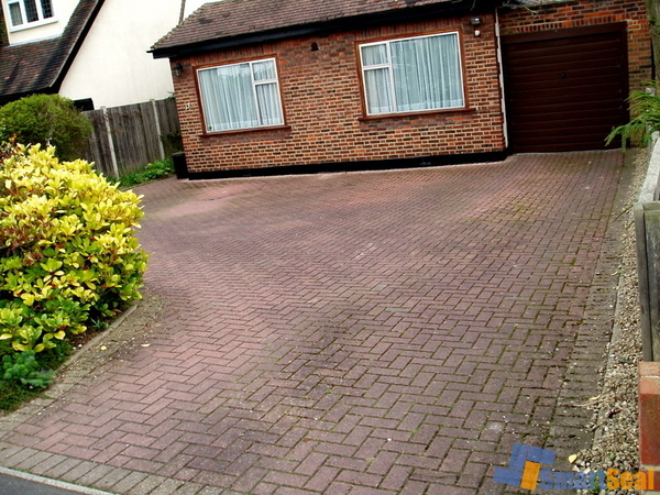 Driveway in need of cleaning